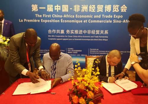 运鸿集团与布基纳法索农业和水产农业发展部签署战略合作备忘录