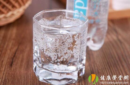 苏打水的好处和坏处