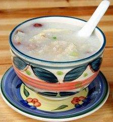 白菜鲤鱼粥的做法