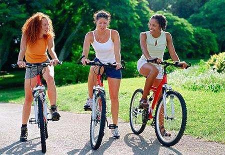你能骑自行车减轻你的胃吗