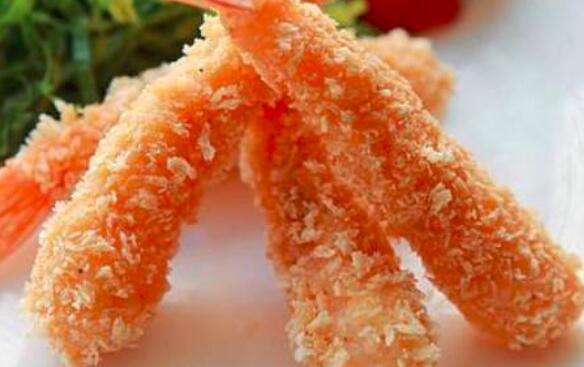 如何用面包屑炒虾