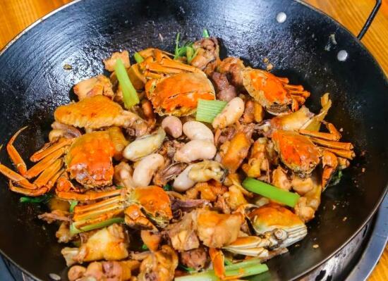 鸡和螃蟹怎么做得好吃