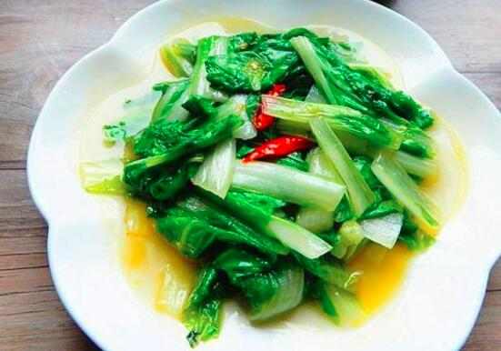 如何用小白菜炖鸡肉