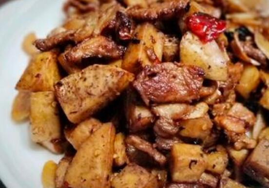 你怎么做芋头五香猪肉?