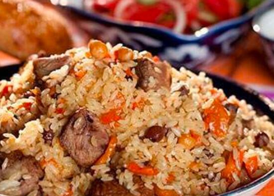 如何用鸡肉做新疆肉饭