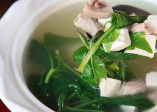 如何做美味的小肠野菜汤